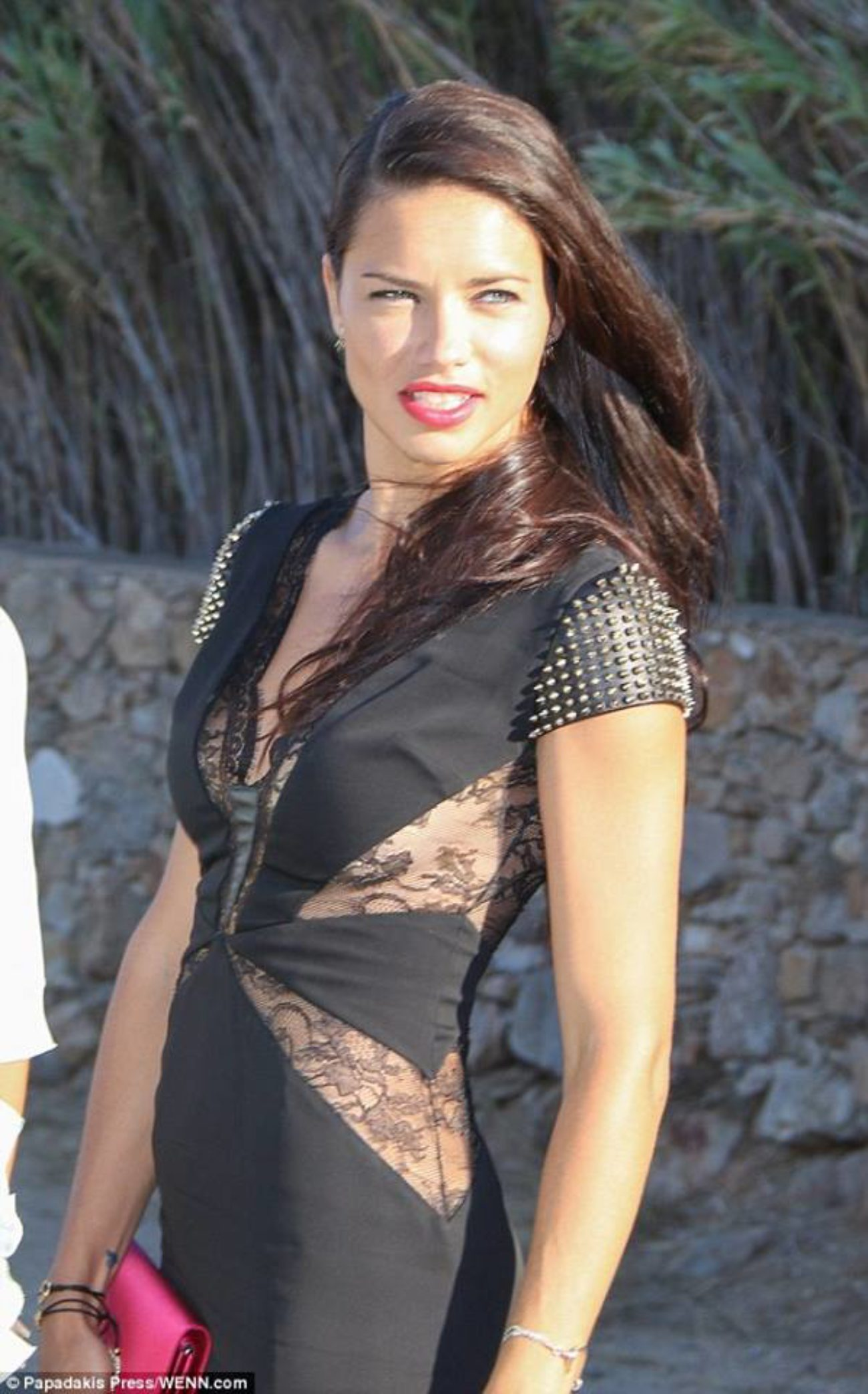 Working with Adriana Lima in Greece