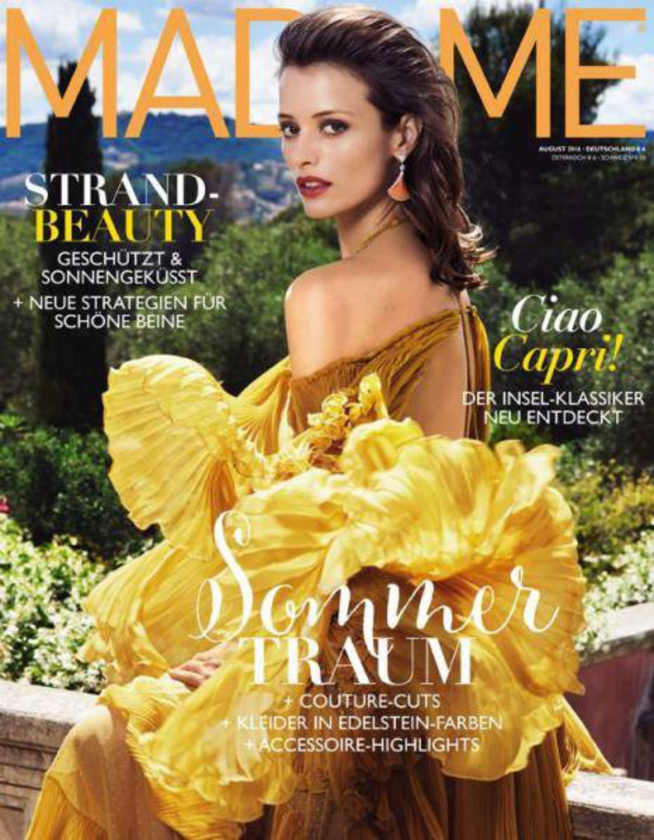 Madame Cover October 2016 with Flavia Lucini