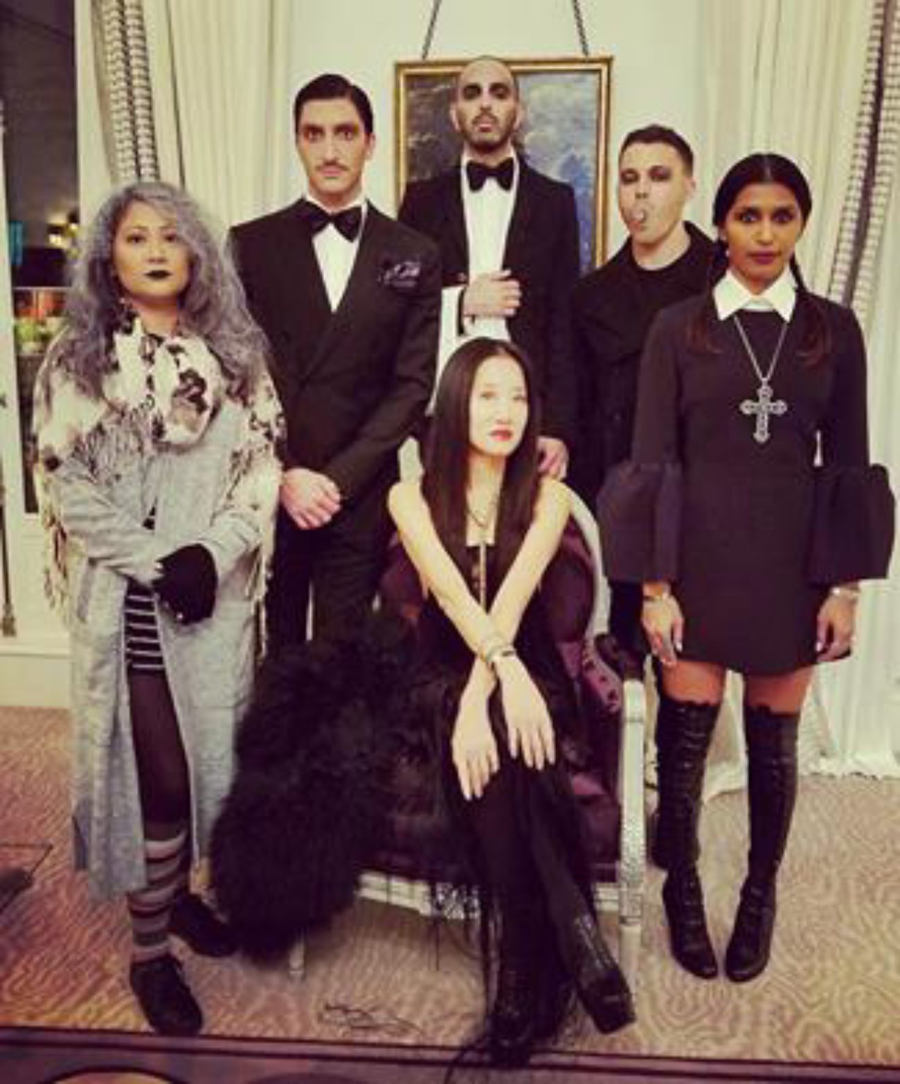 Halloween with Vera Wang and her Gang